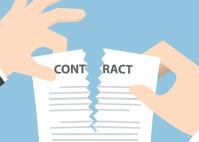 afbeelding contract opzeggen